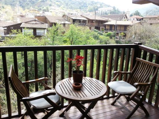 The Mill Hotel: the balcony