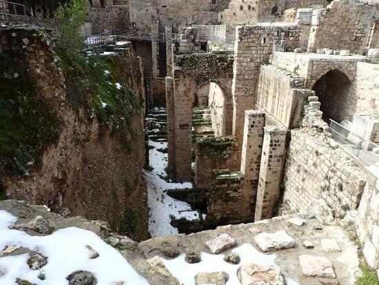 Pools of bethesda photo de vieille ville de j rusalem for Piscine de bethesda