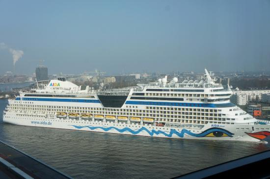 Cruise Ship On Ij Picture Of Movenpick Hotel Amsterdam City - Amsterdam cruise ship
