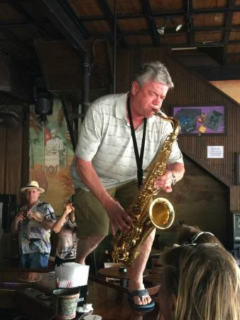 The Bull And Whistle Bar: Live sax music