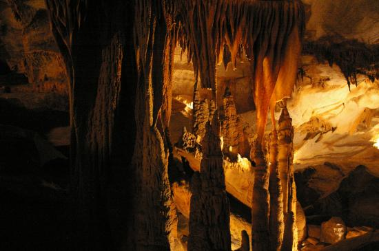 New Market, VA: Some of the formations inside Endless Caverns