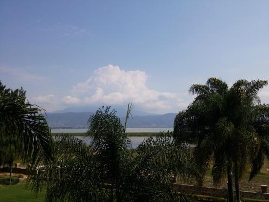 Quinta San Carlos: Vista panoramica del Lago de Chapala