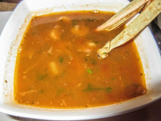 Al Khal Egyptian Restaurant: Seafood soup