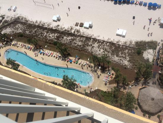 Calypso Resort & Towers: Pool view from balcony