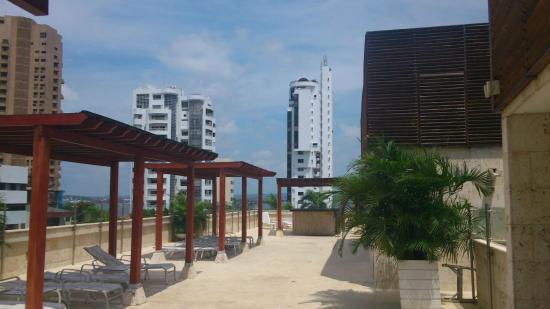 Tequendama Inn Cartagena de Indias: azotea