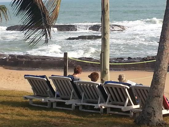 Beach Front Wedding Picture Of Coconut Grove Beach Resort Elmina Tripadvisor