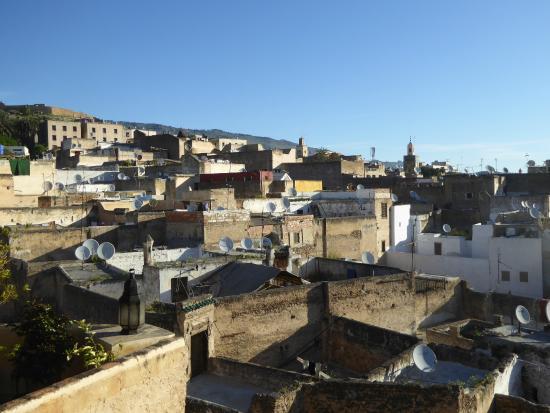 Dar Attajalli: Aussicht von der Dachterrasse