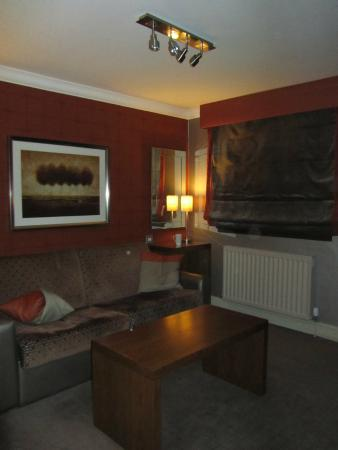 Lounge Area In Our Suite Picture Of Seamill Hydro West