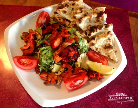 Tandoor: Chicken Tikka salad