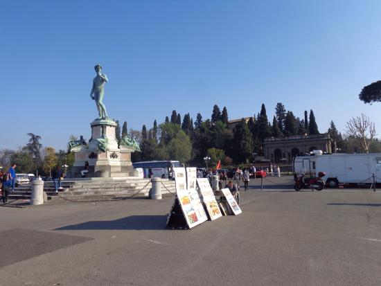 Photo of Monument / Landmark Piazzale Michelangelo at Viale Michelangelo, Florence 50125, Italy