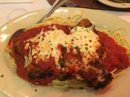 zios italian kitchen chicken parmesan - Zios Italian Kitchen