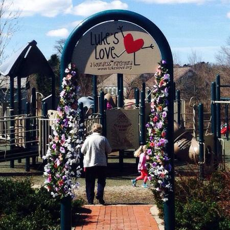 West Barnstable, MA: Luke's Love Boundless Playground