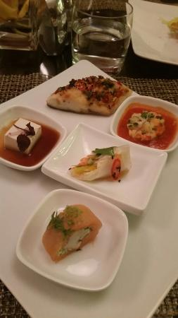 Baharat -mini plated dishes