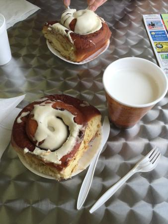 The Pecan Roll Bakery: We loved it. The owner came out and chatted with us and a snowbird gave us the lowdown on what t