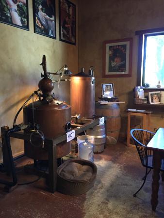 Charbay Winery & Distillery: Their small still