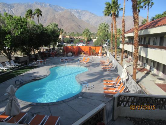 The Monroe Palm Springs: We were on 2nd floor above pool. Very nice.