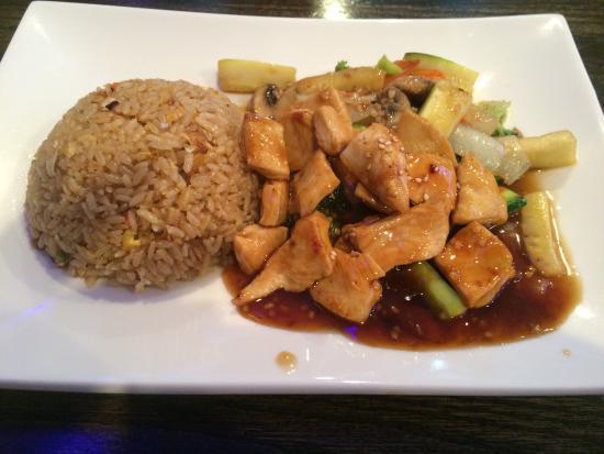 Fuda: Omg super delicious hibachi chicken for lunch !! Big portions!!