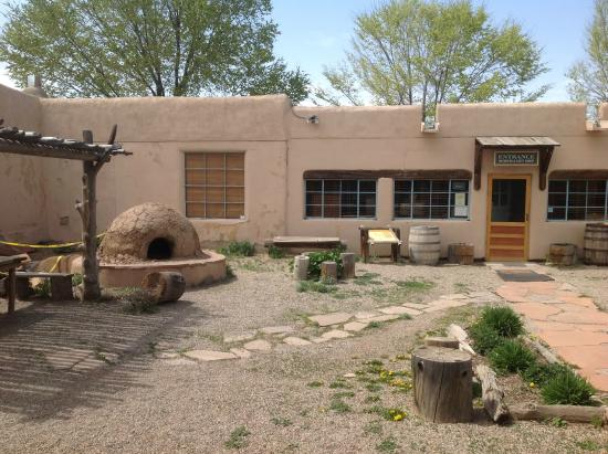 Courtyard Picture Of Kit Carson Home Museum Taos