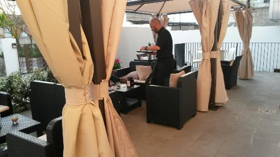Caffetteria-Pasticceria da Cirronis: Sala interna fumatori