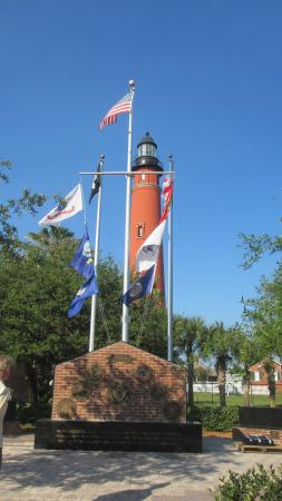 The Villa Inn Bed and Breakfast: Ponce De Leon Inlet Lighthouse, about 14 miles south of The Villa