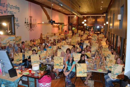 Tipsy Artist Paint Palace In Historic Downtown Guthrie Ok Picture