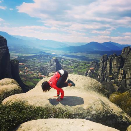 Καστράκι, Ελλάδα: Yoga with a view