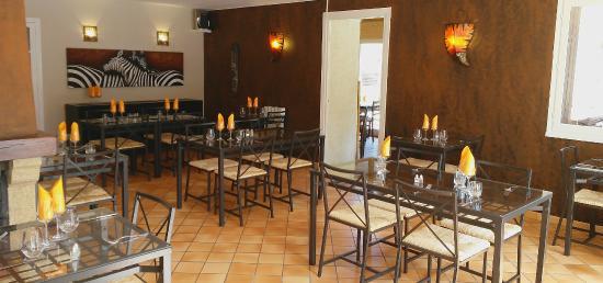 Hôtel Restaurant Le Martagon : La salle-à-manger du Martagon