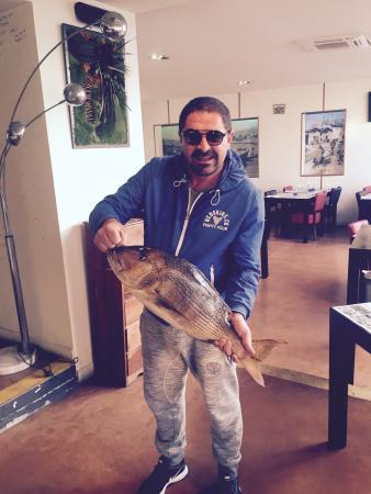 Le Nautica Les Goudes: Denti pêche au palangre