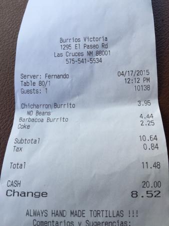 Burrito's Victoria