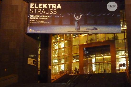 Paris, Frankrig: Вход в театр