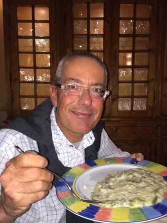 Recorfano, Italia: Il risotto del presidente. Fabio.