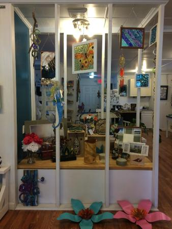 Howe Outrageous Fine Arts & Crafts: Some of the beautiful pieces in the gallery