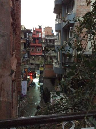 Hotel Florid Nepal : Zed Street is a quieter street off the main drag of Thamel liveliness
