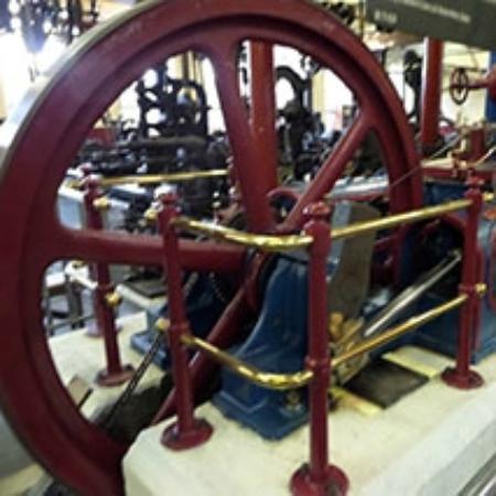 Bradford Industrial Museum: Steam engine