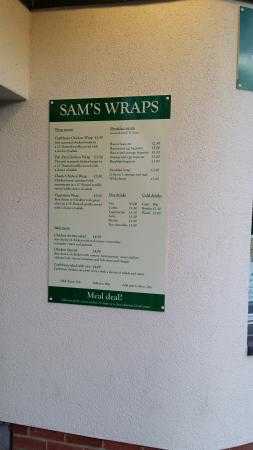 Sam's Wraps