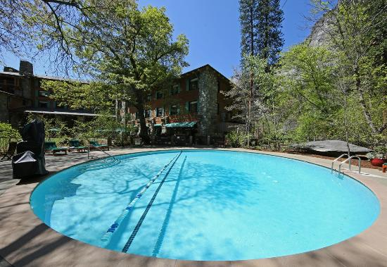 Ahwahnee pool picture of the majestic yosemite hotel for Western pool show 2015