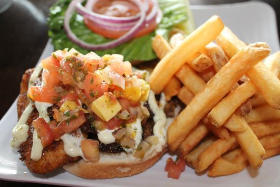 Ballard's : Blackened Tilapia Sandwich