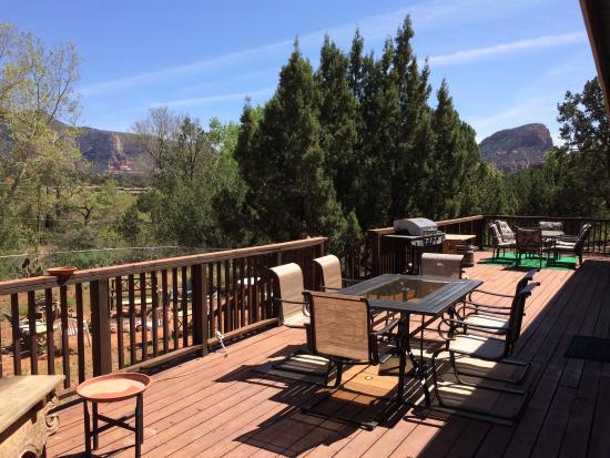 Sedona cabin perfect views near art dining for Cabin in sedona az