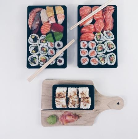 Sushi Klub: Nous avons pris à emporter, pour la saint valentin, succulent !