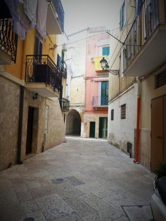 B&B Bella Bari : Aan het einde zie je opnieuw een boog. Dit is Corte Altini.