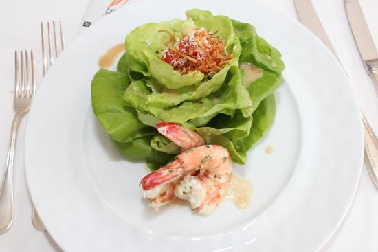 Washington, Коннектикут: Salad w/ 3 shrimp