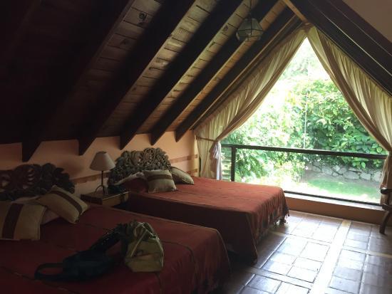 Hotel San Buenaventura de Atitlan: Habitacion