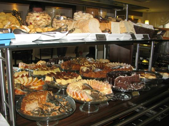 Del Rey Hotel: Buffet café da manhã