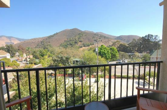 La Cuesta Inn: Balcony view