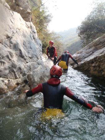 SKYclimber: Canyoning Vione