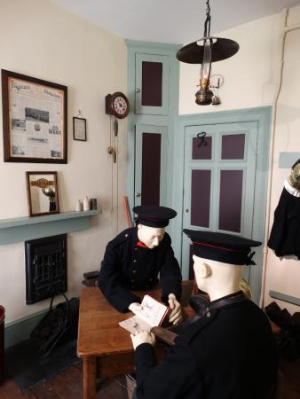 The London Fire Brigade Museum : London Fire Brigade museum.