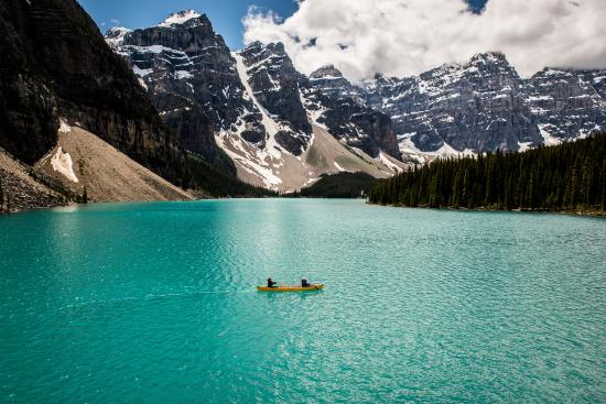 Canadian Rockies, Canada: Shared by Jeff Bartlett at Moraine Lake