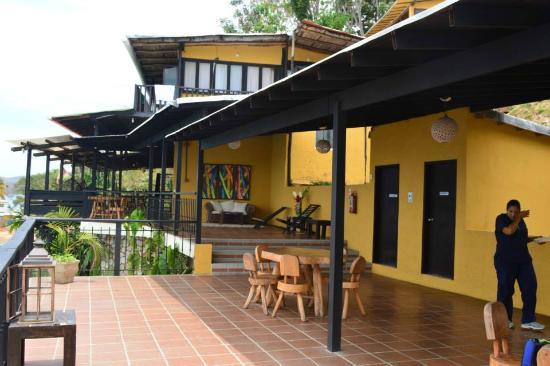 Foto de posada mochima lodge mochima terraza tripadvisor for La terraza barranquilla