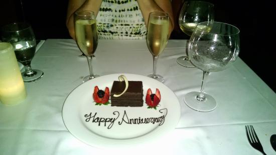Suprise Anniversary Dessert