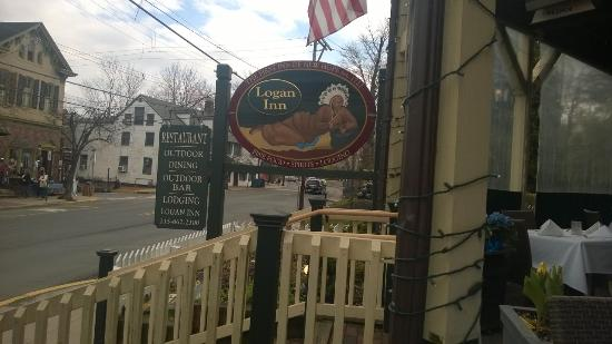 Logan Inn: View from the porch